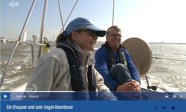 """Veröffentlichung des Beitrags """"14 Monate Sommer - ein Bremer Ehepaar und sein Segel-Abenteuer"""""""