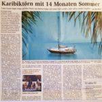 Artikel der Cuxhavener Nachrichten vom 27.09.2018